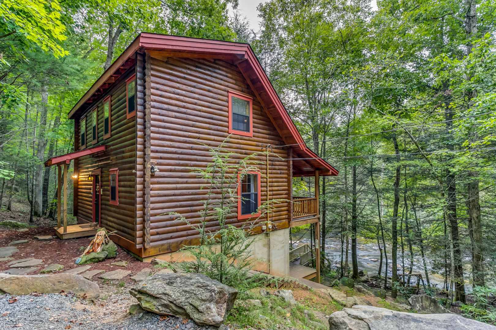 A Tranquil Place  Cabin Rental