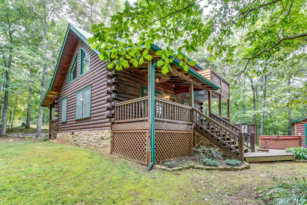Bear foot ridge retreat cabin rentals for Bear ridge cabin rentals